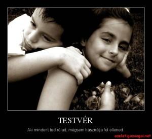 Testvér
